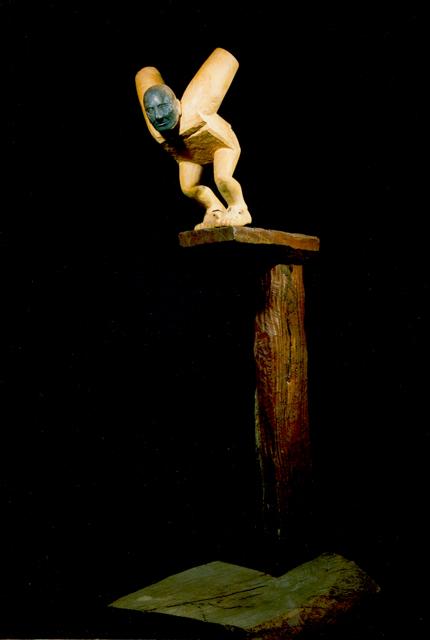 Talla y construcción en madera, 1990